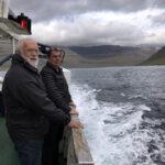 På vej til Svinø  på Færøerne